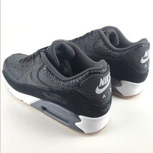 94981707f210 Nike Shoes - Nike Air Max 90 Premium Black Safari Gum Bottom